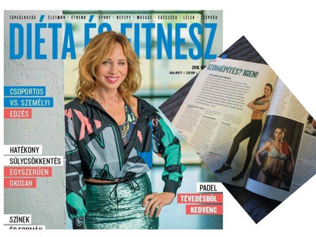DIÉTA&FITNESZ Magazin 2018 november Kiss The Trainer