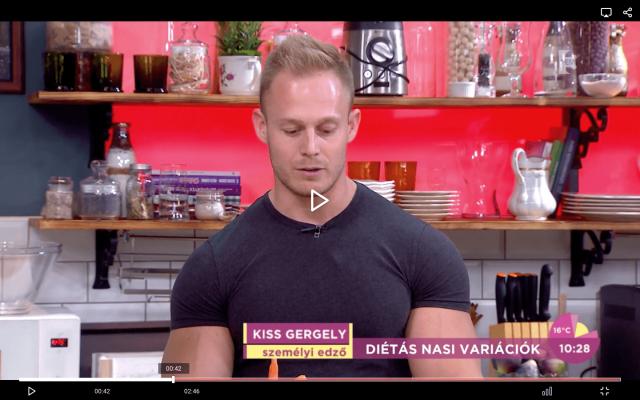Fem3Cafe - Kiss The Trainer (Kiss Gergely) Mártogatós sült zöldségek