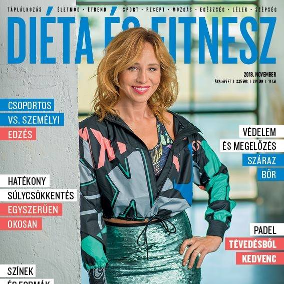 DIÉTA&FITNESZ Magazin 2018 november Kiss The Trainer
